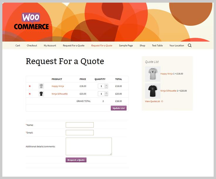 Quote WordPress Plugins