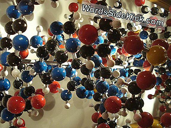 Dna-Moleculen Display Telepathie-Achtige Kwaliteit