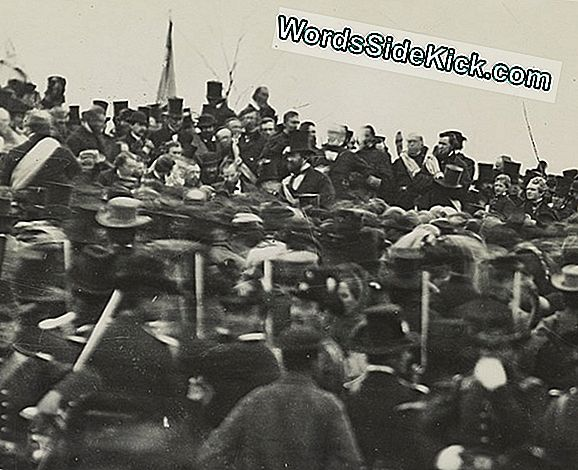 Gettysburg-Adres Afgeleverd Terwijl Lincoln Zwak Was