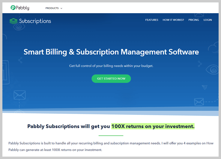 Pabbly Subscriptions Subscription Analytics Tool