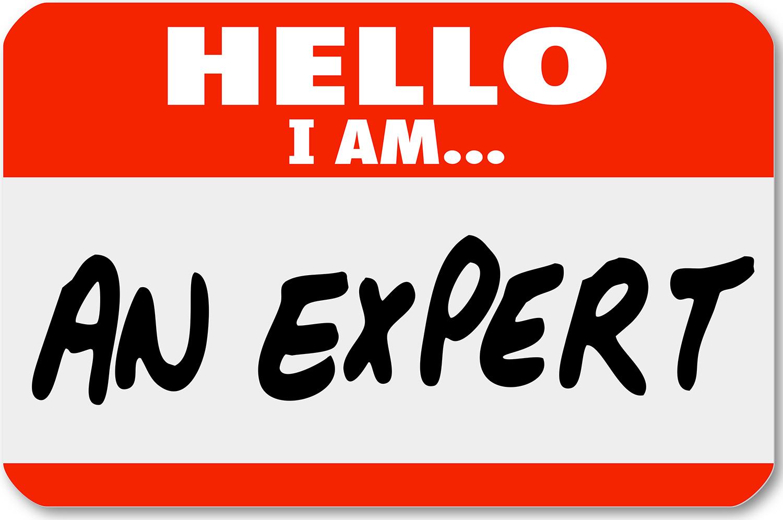 I am an expert.