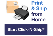Mail and Ship image with call to action.