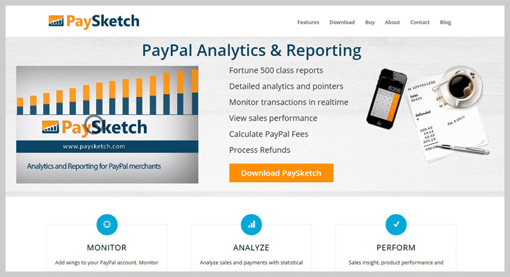 Paysketch Subscription Analytics Tool