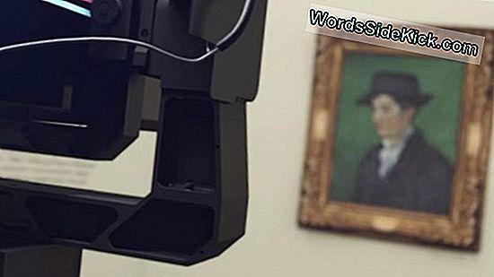De Gigapixel-Camera Van Google Onthult Minieme Details In Beroemde Kunstwerken