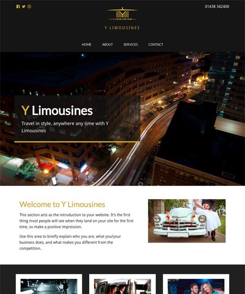 Luxury Drive InstantSite template