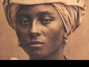 An image from the Negritude exhibit