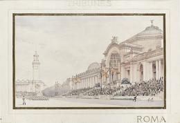 University Archives, Bancroft Library Emile Bénard, Paris Tribunes of Gymnasium Complex, 1899