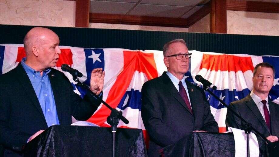 Montana lawmaker who bodyslammed reporter wins GOP gubernatorial primary, as Biden all but secures nomination