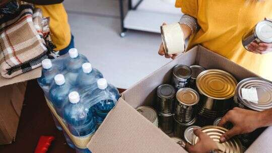 Food pantries dry up as unemployment skyrockets