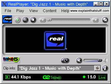 Real Player screenshot