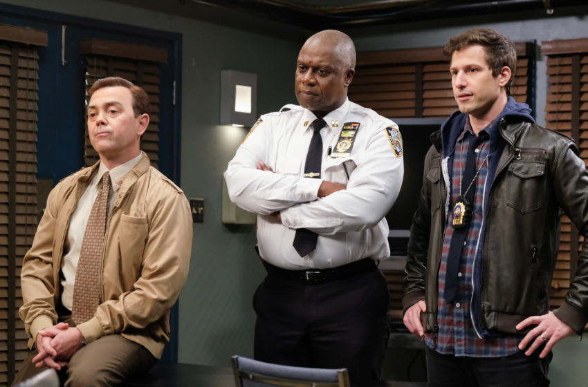 BROOKLYN NINE-NINE --Photo by: John P. Fleenor/NBCU Photo Bank/NBCUniversal via Getty Images via Getty Images