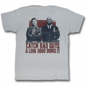Brooklyn Nine-Nine Men's Rad T-Shirt Large Silver